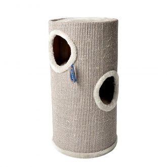 Duvo rascador gato scratching post tower ton Telepiensoscanarias