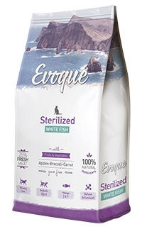 Evoque cat sterilized white fish Telepiensoscanarias