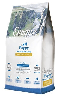 Evoque puppy medium large chicken turquey TelepiensosCanarias