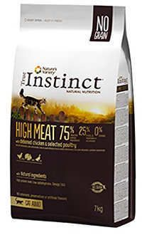 Instinct gato high meat con pollo y sin cereal
