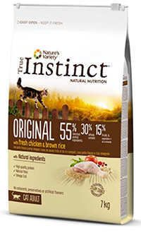 Instinct gato pollo arroz integral Telepiensoscanarias