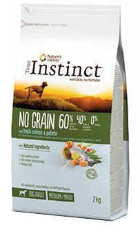 Instinct no grain dog adult medium max salmon Telepiensoscanarias