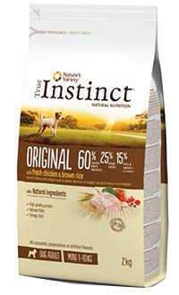 Instinct original dog adult mini pollo Telepiensoscanarias
