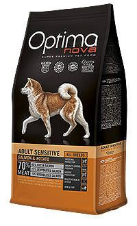 Ootima Nova dog adult sensitive salmon Telepiensoscanarias