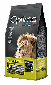 Optima Nova cat Hairball chicken rice TelepiensosCanarias