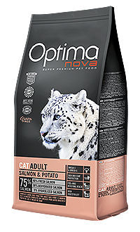 Optima Nova cat adult salmon potato TelepiensosCanarias
