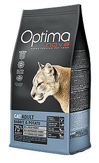 Optima nova cat adult rabbit potato TelepiensosCanarias