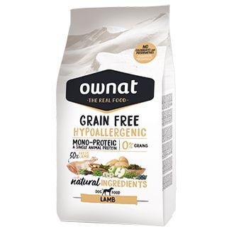 Ownat grain free hypoallergenic lamb telepiensoscanarias