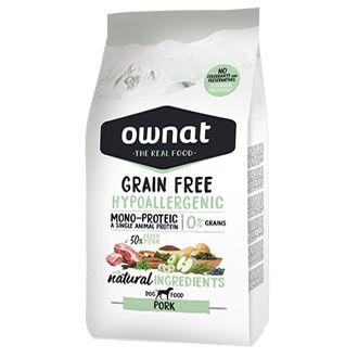 Ownat grain free hypoallergenic pork telepiensoscanarias