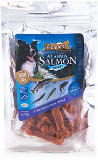 Prince Premium Salmon Bone Shaped