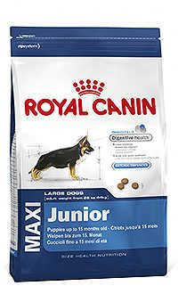Royal Canin maxi junior Telepiensoscanarias