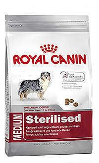 Royal Canin medium sterilised Telepiensoscanarias