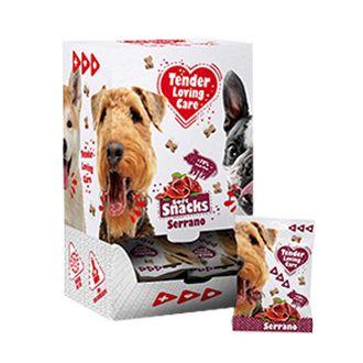 duvo golosinas snack serrano perros telepiensoscanarias