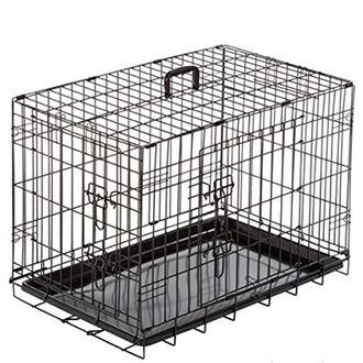 duvo jaula dog crate 2doors plastic tray telepiensoscanarias 2019