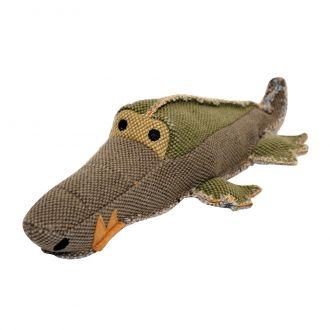duvo juguete perro canvas crocodile telepiensoscanarias