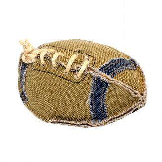 duvo juguete perro canvas football telepiensoscanarias