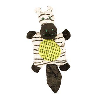 duvo juguete zebra crinkle perro telepiensoscanarias