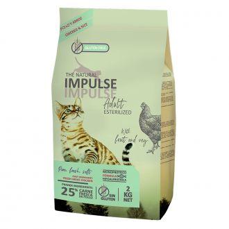 natural Impulse pienso gato esterilizado pollo telepiensoscanarias