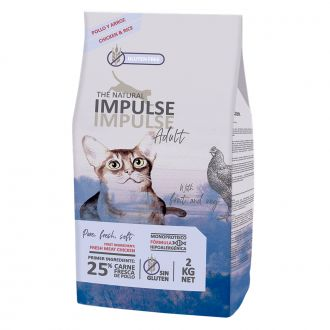 natural Impulse pienso gato pollo telepiensoscanarias