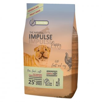 natural Impulse pienso puppy pollo telepiensoscanarias